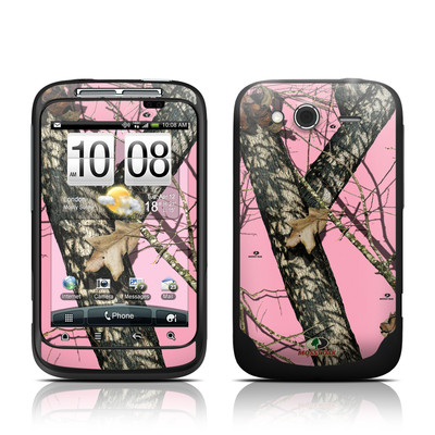 HTC Wildfire S Skin - Break-Up Pink