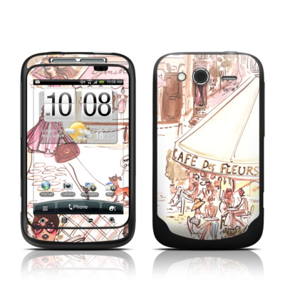 HTC Wildfire S Skin - Paris Makes Me Happy