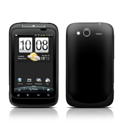 HTC Wildfire S Skin - Solid State Black