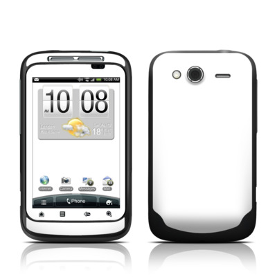 HTC Wildfire S Skin - Solid State White
