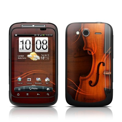 HTC Wildfire S Skin - Violin
