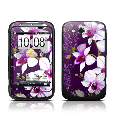 HTC Wildfire S Skin - Violet Worlds