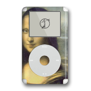 iPod Skin (4G) - Mona Lisa