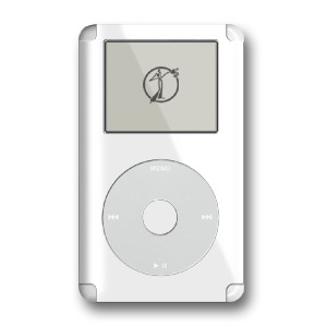 iPod Skin (4G) - Solid White