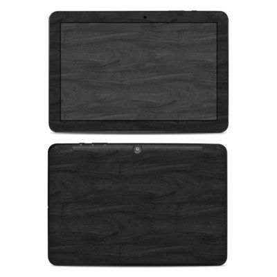 Insignia 10.1 Tablet Skin - Black Woodgrain
