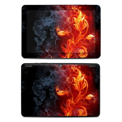 Insignia 10.1 Tablet Skin - Flower Of Fire