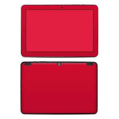Insignia 10.1 Tablet Skin - Solid State Red