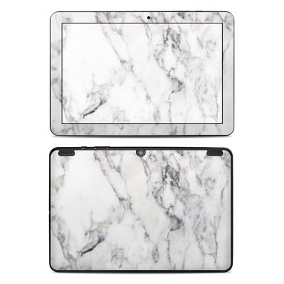 Insignia 10.1 Tablet Skin - White Marble