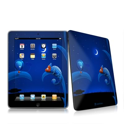 iPad Skin - Alien and Chameleon