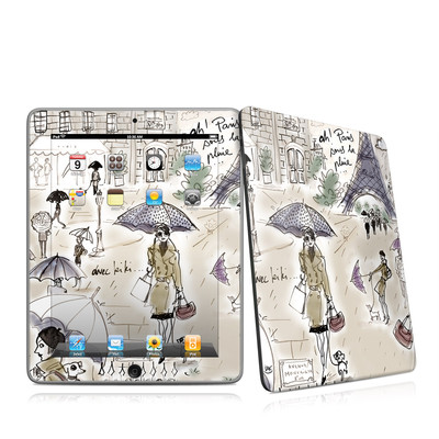 iPad Skin - Ah Paris
