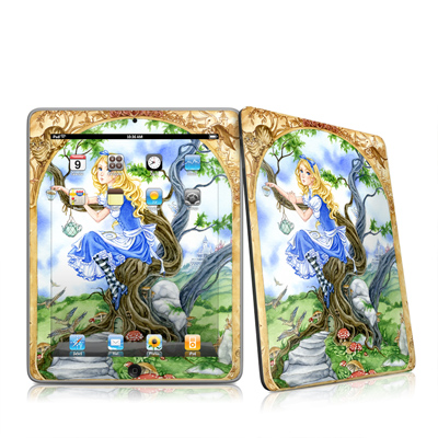 iPad Skin - Alice's Tea Time