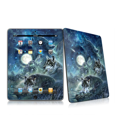 iPad Skin - Bark At The Moon