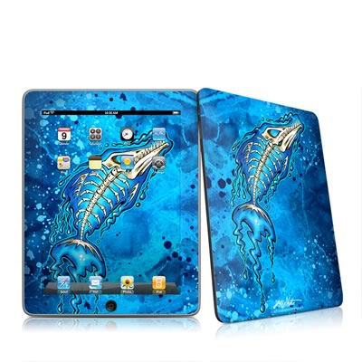 iPad Skin - Barracuda Bones