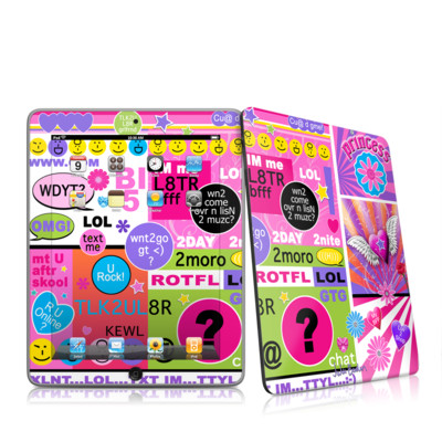 iPad Skin - BFF Girl Talk
