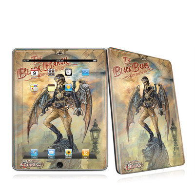 iPad Skin - The Black Baron