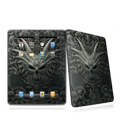 iPad Skin - Black Book
