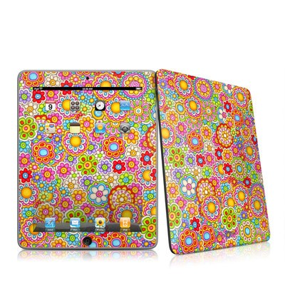 iPad Skin - Bright Ditzy
