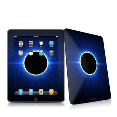 iPad Skin - Blue Star Eclipse