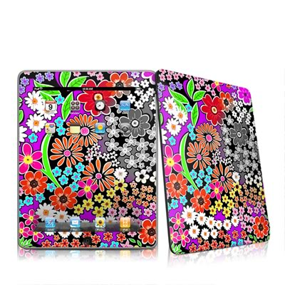 iPad Skin - A Burst of Color