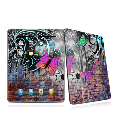 iPad Skin - Butterfly Wall