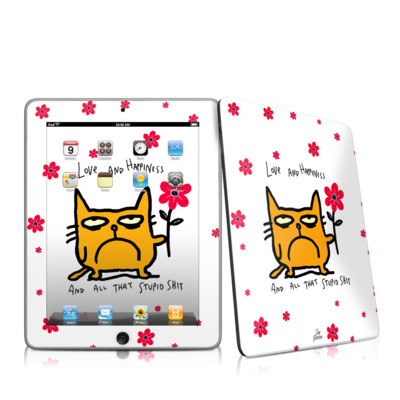 iPad Skin - Catwad Happy