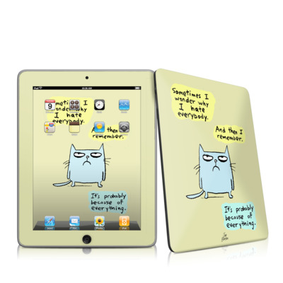 iPad Skin - Catwad Hate