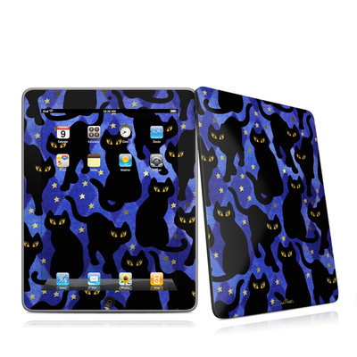 iPad Skin - Cat Silhouettes