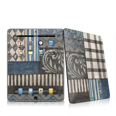 iPad Skin - Country Chic Blue