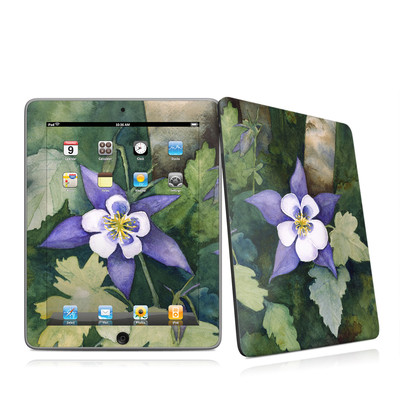 iPad Skin - Colorado Columbines