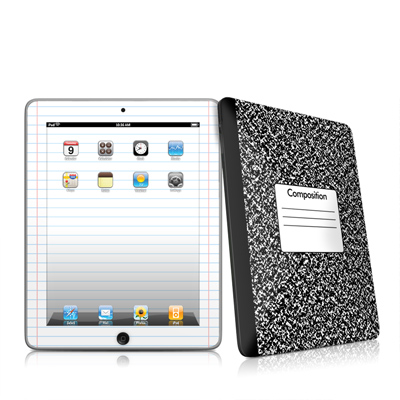 iPad Skin - Composition Notebook