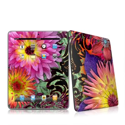 iPad Skin - Cosmic Damask