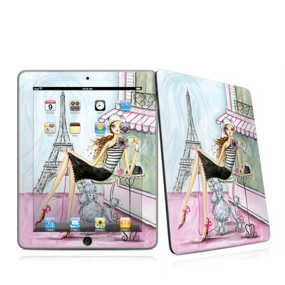 iPad Skin - Cafe Paris