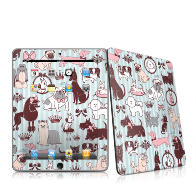 iPad Skin - Doggy Boudoir