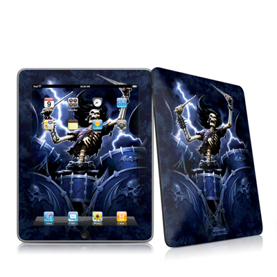 iPad Skin - Death Drummer