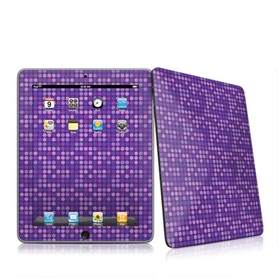 iPad Skin - Dots Purple
