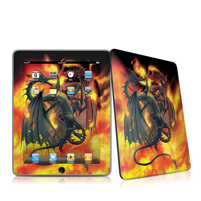 iPad Skin - Dragon Wars