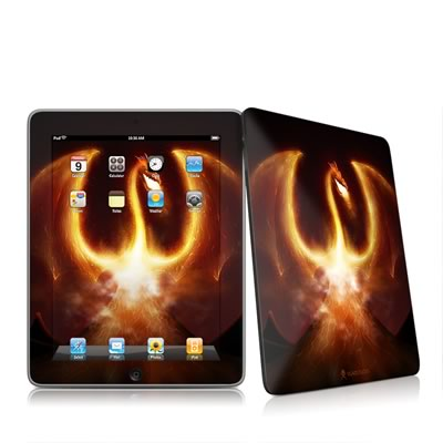 iPad Skin - Fire Dragon
