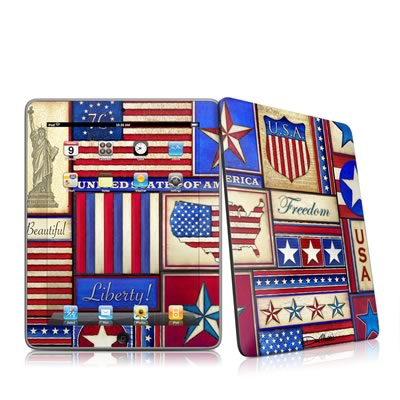 iPad Skin - Flag Patchwork