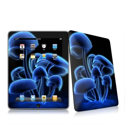 iPad Skin - Fluorescence Blue