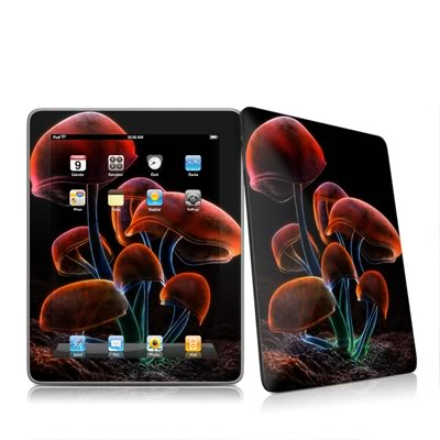 iPad Skin - Fluorescence Rainbow