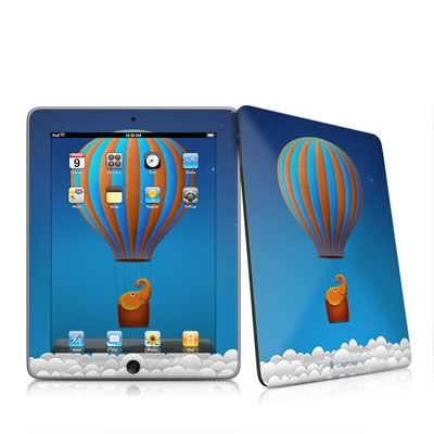 iPad Skin - Flying Elephant