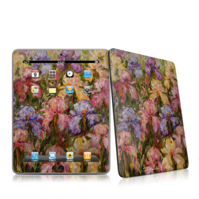iPad Skin - Field Of Irises