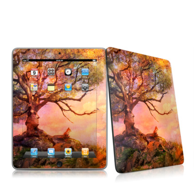 iPad Skin - Fox Sunset