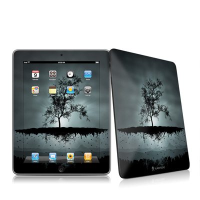 iPad Skin - Flying Tree Black