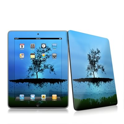 iPad Skin - Flying Tree Blue