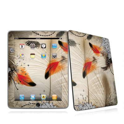 iPad Skin - Feather Dance