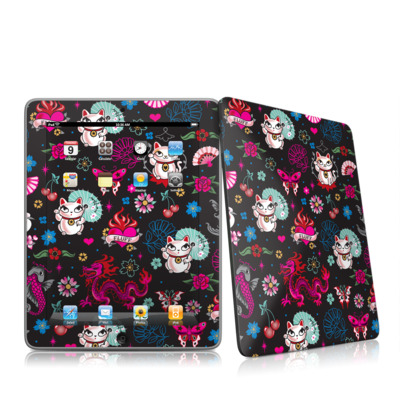 iPad Skin - Geisha Kitty