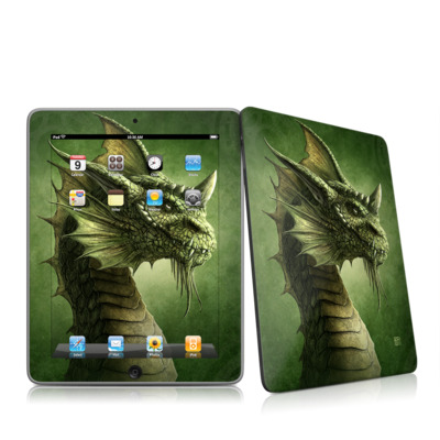 iPad Skin - Green Dragon