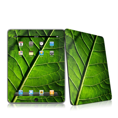 iPad Skin - Green Leaf