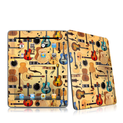 iPad Skin - Guitar Collage